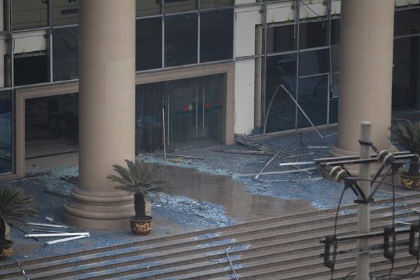 重庆大渡口法院食堂爆炸5