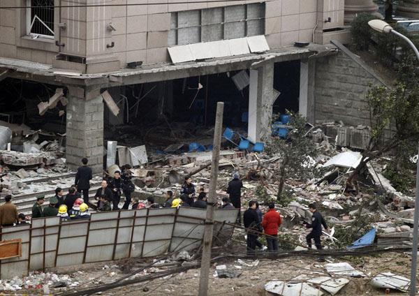 重庆大渡口法院食堂爆炸2
