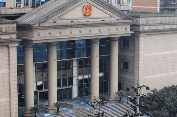重庆大渡口法院食堂爆炸7