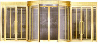 小型组合铜门