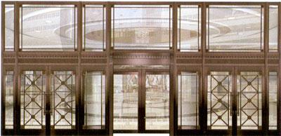 大型组合铜门