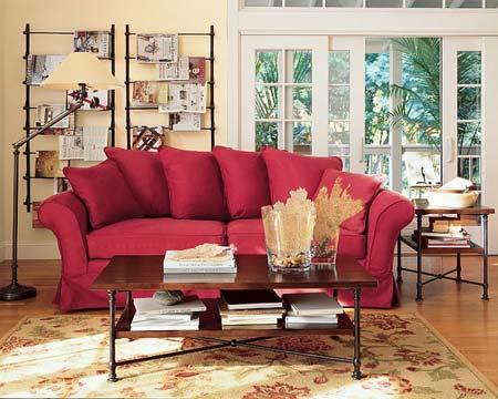 时尚家居之沙发的创意搭配2
