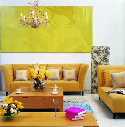 时尚家居之沙发的创意搭配3