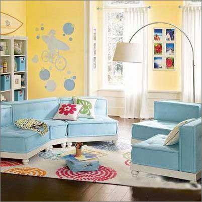 时尚家居之沙发的创意搭配11