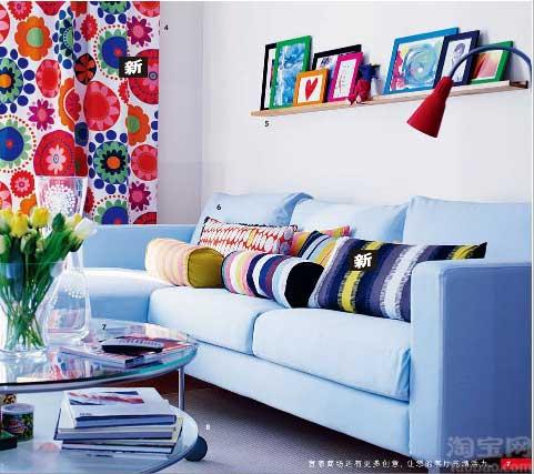 时尚家居之沙发的创意搭配12