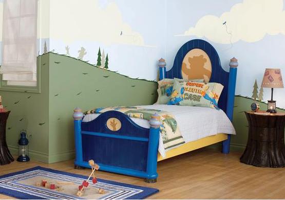 美仑美奂的儿童房4