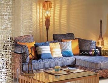 东南亚室内装饰风格5