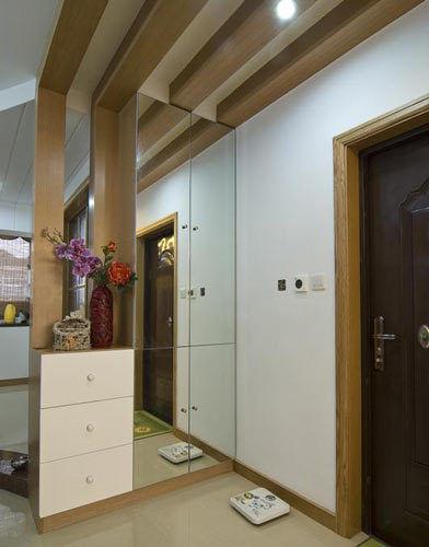 现代日式公寓玄关设计