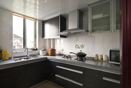 现代日式公寓厨房设计