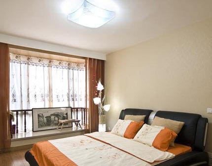 现代日式公寓卧室设计