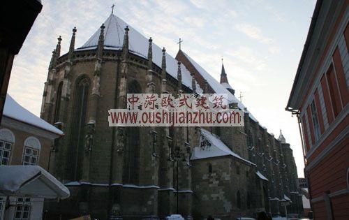 布拉索夫古城黑教堂