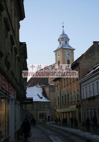 布拉索夫古城街景