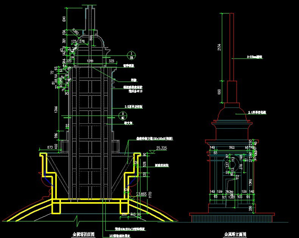江苏欧式风格礼堂设计图纸2