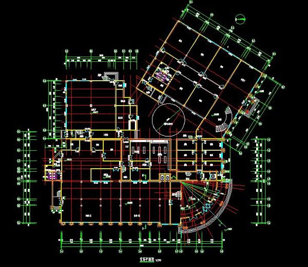天津餐饮楼设计图纸4