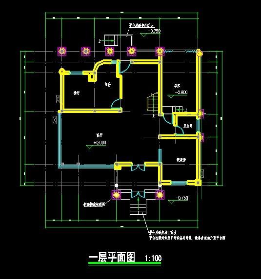 无锡别墅设计图纸3