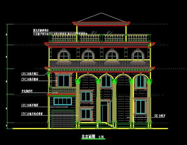 无锡别墅设计图纸2