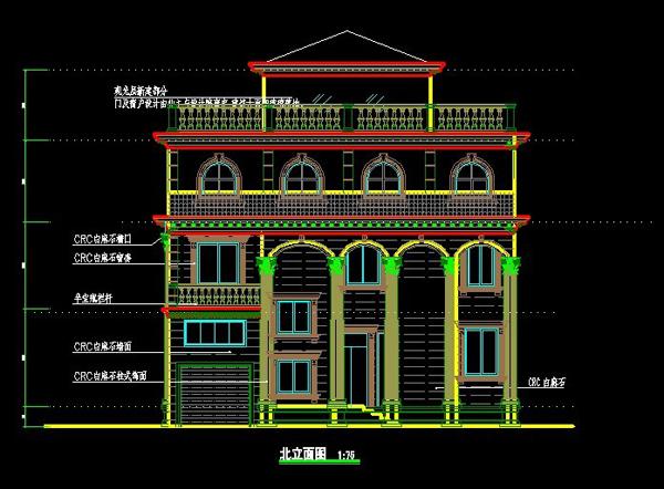 无锡别墅设计图纸1