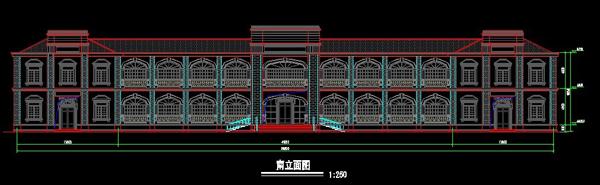 浙江欧式风格宾馆设计图纸3