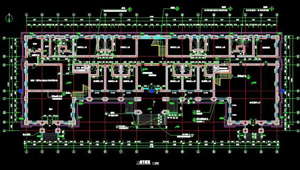 浙江欧式风格宾馆设计图纸5