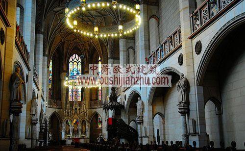 马丁路德教堂内部