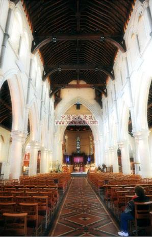 基督城教堂内部