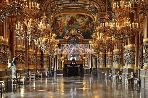 巴黎歌剧院的大前庭