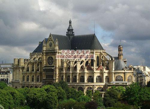 法国圣厄斯塔什教堂