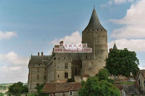 法国Chateau de Chateaudun 城堡