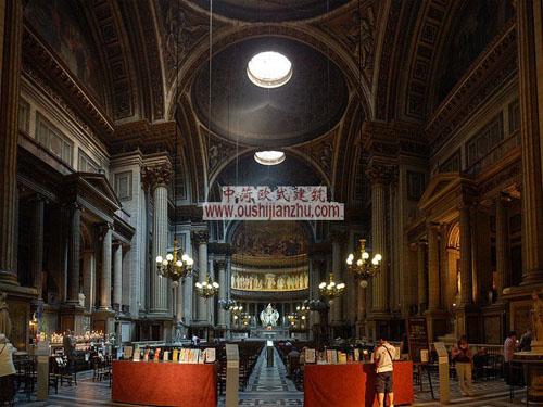 法国马德莱娜教堂内部