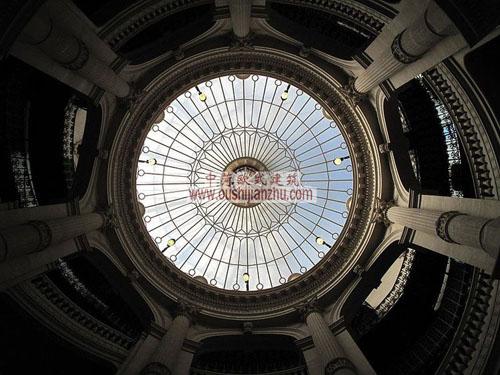 法国里昂信贷银行总部的穹顶