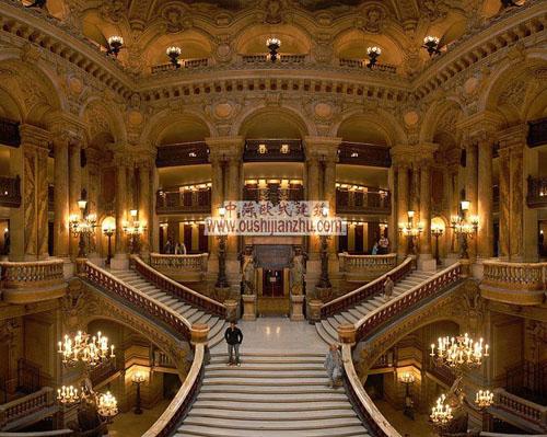 巴黎歌剧院的大楼梯
