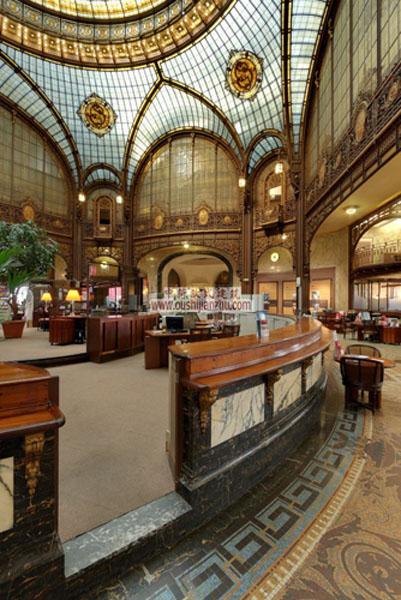 法国兴业银行的总部的内部