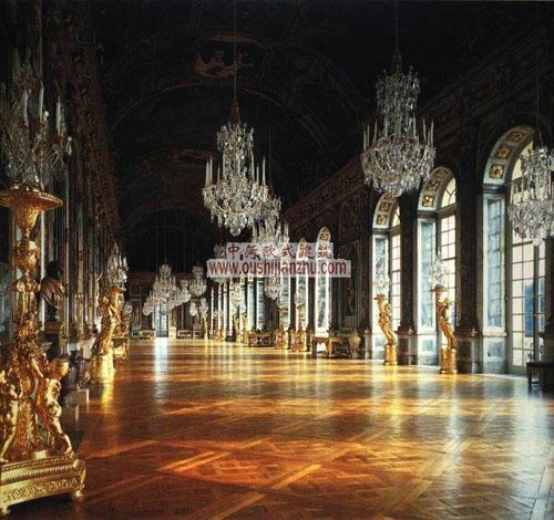 凡尔赛宫中的镜厅