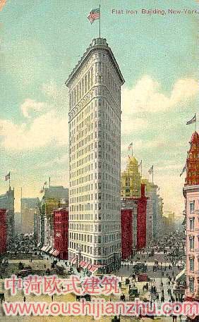 超高层欧式建筑