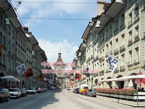 瑞士欧式建筑