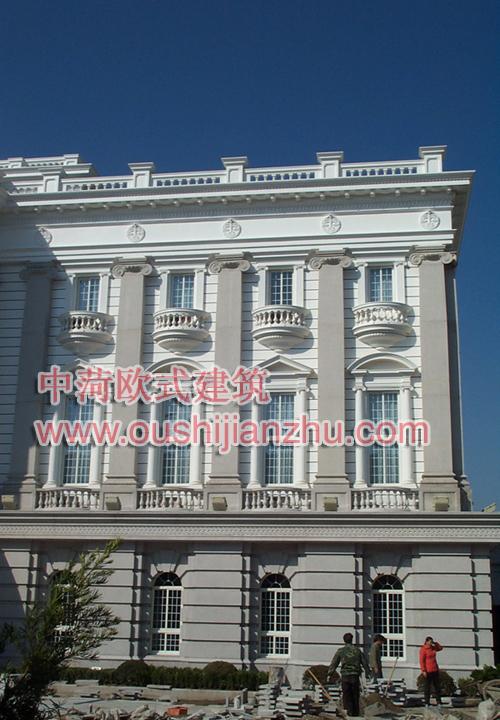 上海法庭细部