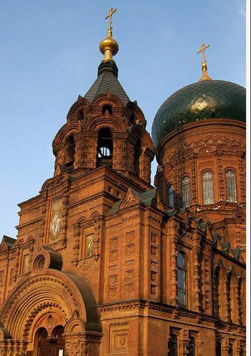 哈尔滨--圣索菲亚教堂