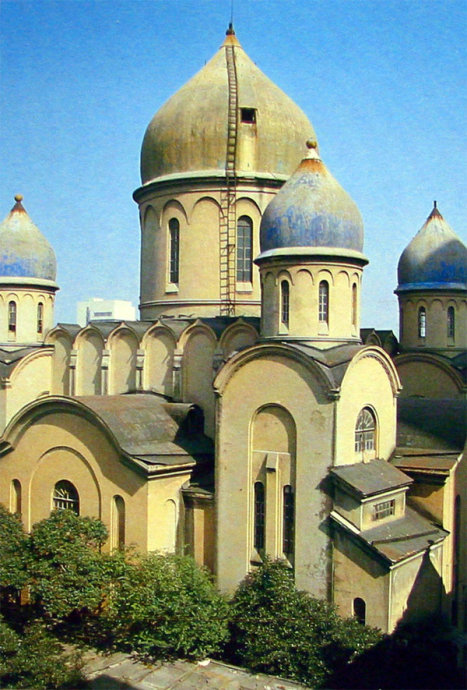 上世纪70年代的新乐路圣母堂