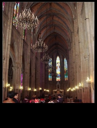 广州石室教堂_石室耶稣圣心堂9
