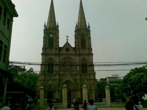 广州石室教堂_石室耶稣圣心堂8