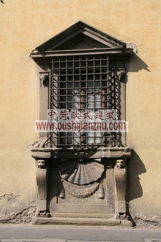 意大利佛罗伦萨民居窗台