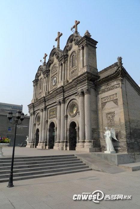 西安五星街天主教堂9
