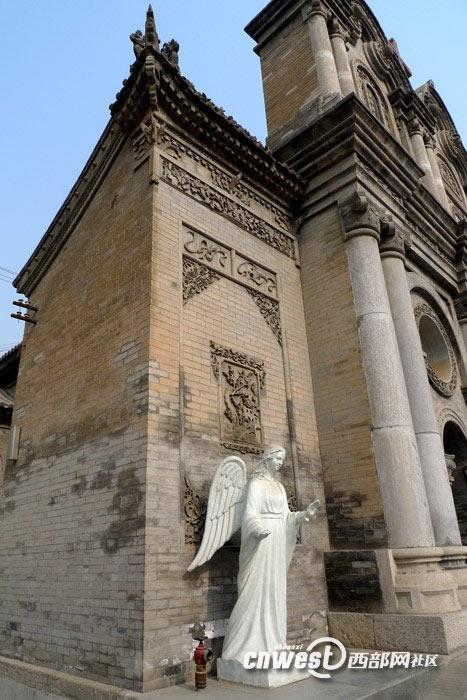西安五星街天主教堂7