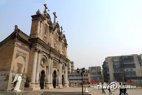西安五星街天主教堂10