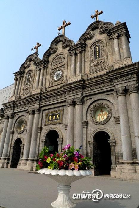 西安五星街天主教堂5