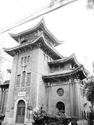 上海近代百年的基督教堂:上海鸿德堂