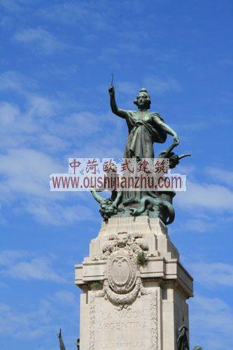 阿根廷布宜诺斯艾利斯纪念碑