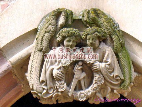 德国海德堡鲁普来希特宫雕塑