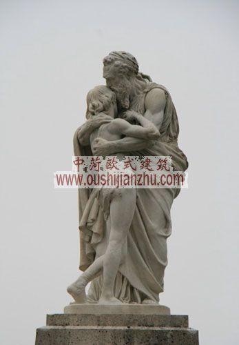 法国枫丹白露宫雕塑