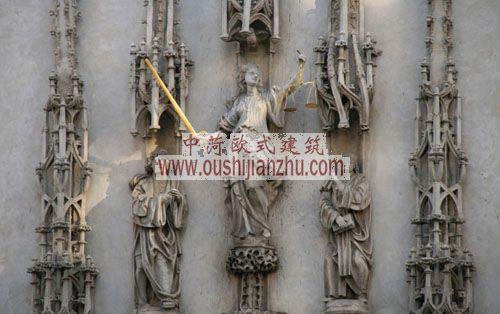 捷克布尔诺雕塑